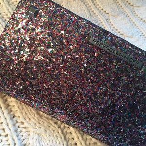Rebecca Minkoff Glitter Sophie Snap Wallet